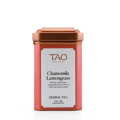 Our Chamomile Lemongrass expertly blends the medicinal chamomile flowers with lemongrass and mint to give you a zesty and surprisingly refreshing brew.