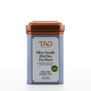 Our Silver Needle is USDA organic certified and is produced using only the most tender tea buds from the first flush of Da Bai (Great White) tea tree.