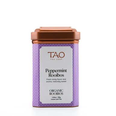 Because rooibos is 100% caffeine free, our peppermint rooibos is the perfect option for those with caffeine sensitivities or allergies.