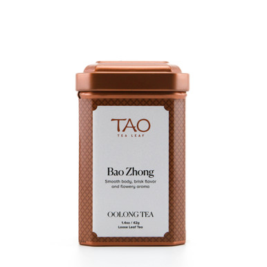 Bao Zhong is a very lightly oxidized oolong with a clear green, delicate infusion and fresh floral notes of lilac and lily.