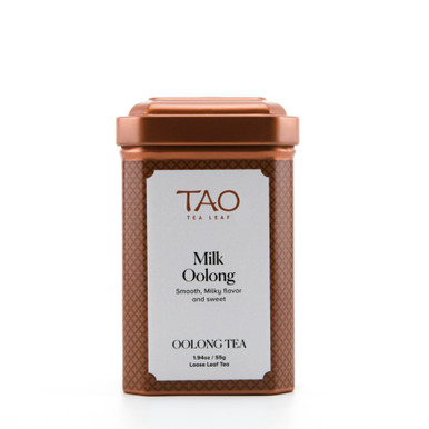 The milk oolong has a fantastically rich and creamy flavour that can you can enjoy while the velvety aroma hangs overhead.