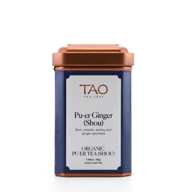 The rich and smooth taste of the pu-er combines with the spicy and warming qualities of ginger making for a delicious spicy and invigorating tea.