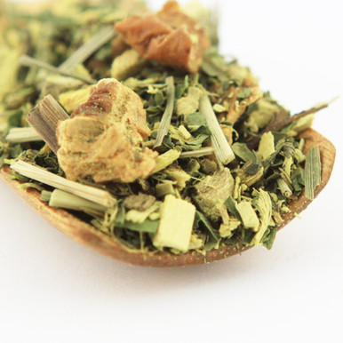 "This very ""cool"" herb tea blend containing only excellent ingredients has been part of our bestseller assortment for many years."