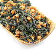 Genmaicha is an extremely popular Japanese green tea with roasted brown rice.