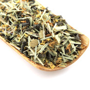 A refreshing floral blend of organic green tea with lemongrass and hints of orange and osmanthus flowers.