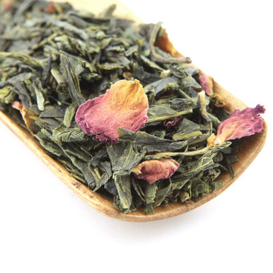 This is a fantastic blend of Japanese Sencha, rose pedals and the flavour of cherries.
