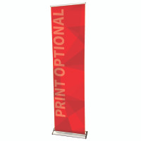 "24"" Retractable Roll Up Banner Stand - Pro Line"