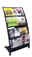 mobile magazine rack