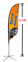 13' Custom Feather Advertising Flag Kit