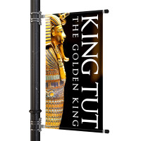 "24"" Street Light Pole Banner"