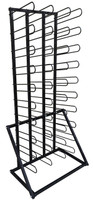 Free Standing Media Roll Storage Rack - 40 Roll