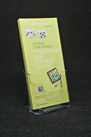 "Single Pocket 4""x9"" Trifold Brochure Holder"