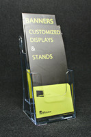 "2 Pocket 4""x9"" Trifold Brochure Holder"