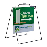 "Outdoor Sidewalk Hanging Sign A-Frame - 24"" x 24"""