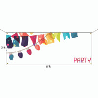 Custom Full Color Vinyl Banners - 3' x 8'