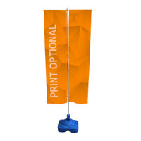 5ft. Outdoor Sidewalk Empire Flag Stand
