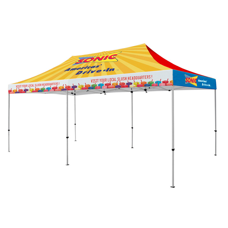 Image 1  sc 1 st  Fantastic Displays & 20x10 Full Color Custom Trade Show Event Canopy (CT020)