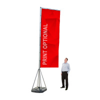 17ft. Giant Custom Flag Advertising Flag Kit