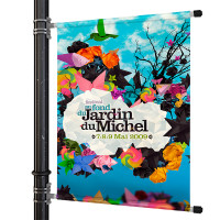 "36"" Street Light Pole Banner"