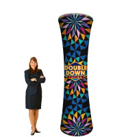 10' Trade Show Display Tower - Branded Column