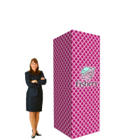 8' Trade Show Display Tower - Branded Pillar