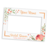 Custom Bridal Shower Landscape Frame