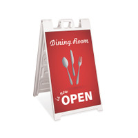 Dining Open Outdoor Restaurant Signicade A-Frame Sign