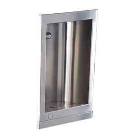 Barrier-Free Stainless Steel Recessed Cuspidor