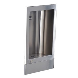 Stainless Steel Recessed Cuspidor