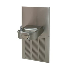 Rounded Box Chilled Barrier-Free Wall Mount Drinking Fountain