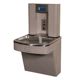 Barrier-Free Wall Mount Water Cooler with Bottle Filler