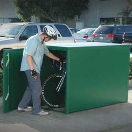 Bicycle Locker, Heavy Duty