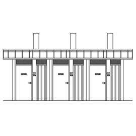 Waterless series, parks and recreation buildings, murdock,