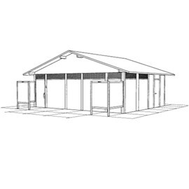 10 Foot Concession Addition for Pathway