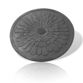 Dandelion Manhole Cover