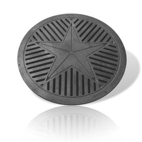 Star Manhole Cover