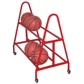 Holds up to 12 basketballs or 15 volleyballs