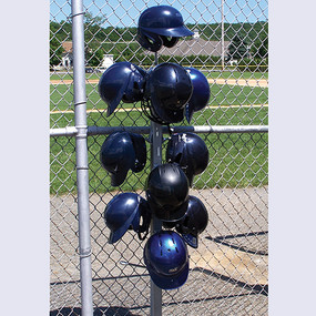 StackMaster Batting Helmet Storage Rack