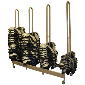 Stackmaster Deluxe Shoulder Pad Rack