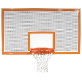 42 Rectangular Perforated Steel Backboard