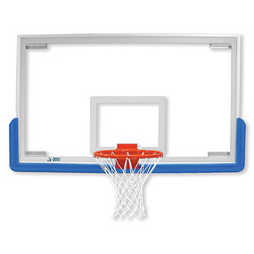Unbreakable Rectangular Glass Backboard 72x42