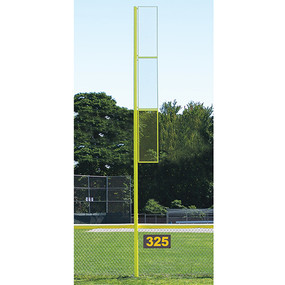 20 Collegiate Foul Pole (Baseball – Semi/Perm – Yellow)