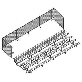 Universal Enclosure (5 Row – 15 Bleacher)