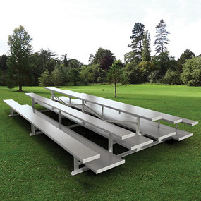15 Back-to-Back Preferred Bleacher (3 Row – Natural Finish)