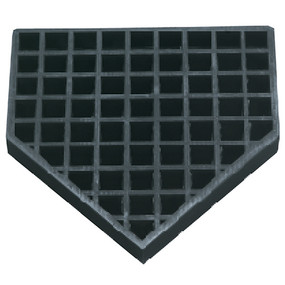 Bury-All Home Plate – Rubber
