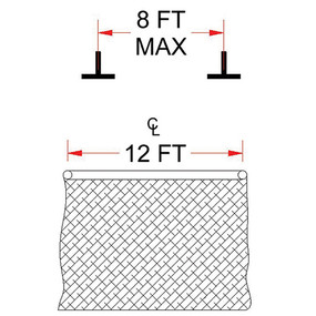 Ceiling Mounting Kit – B