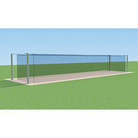55′ MEGA Outdoor Batting Tunnel Frame (Single)