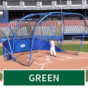 Big League Professional Batting Cage (Green)