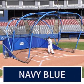 Big League Professional Batting Cage (Navy Blue)