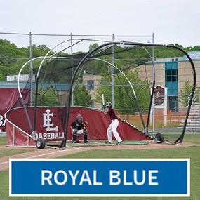 Grand Slam Portable Batting Cage (Royal Blue)